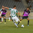Stock Photo: CORDOBA, SPAIN - AUGUST 18: Abel Gómez W(23) in action during match league Cordob(W) vs Ponferradin(B)(1-0) at Municipal Stadium of Archangel on august 18, 2013 in CordobSpain