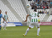 CORDOBA, SPAIN - SEPTEMBER 29: Abel Gomez W(23) in action during match league Cordoba (W) vs Girona (B)(2-0) at the Municipal Stadium of the Archangel on September 29, 2013 in Cordoba Spain — Stockfoto