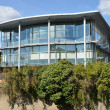 Stock Photo: Modern Glass Fronted office block