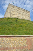 Norwich Castle from Road — Stock Photo