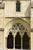 Arco de catedral medieval — Foto Stock