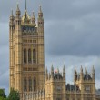 Tower at palace of westminster — Stock Photo #13401459