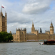 Parliament with Boat in Foreground — Stock Photo #13444257