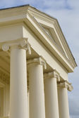 Hylands Park front entrance detail — Stock Photo