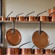 Copper pots — Stock Photo #13842229