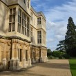 Stock Photo: Stately home from side