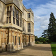 Stately home from the side - Stock Photo