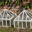 White cloches — Stock Photo