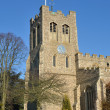 English Parish Church tower — Stock Photo