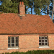 English brick cottage — Stock Photo