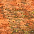 Stock Photo: Old roof tile pattern