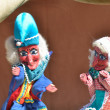 Stock Photo: Punch and Judy puppet show