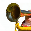 Stock Photo: Trumpet Blowing