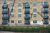 Docklands warehouse — Stock Photo