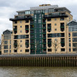 Modern Riverside Docklands Housing — Stock Photo
