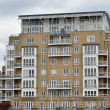 Thames riverside flats - Stock Photo