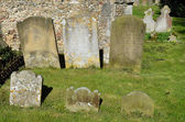 Group of Gravestones — Stock Photo