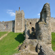 Framlingham castle with large wall — Foto Stock