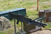 Oorlog tijd machine gun — Stockfoto