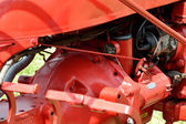 Detail of tractor Engine — Stock Photo