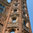 Stock Photo: Tudor Tower at angle