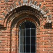 Brick Tudor window — Foto de stock #28587235