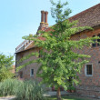 Stock Photo: Tudor brick House