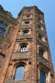 Tudor Tower at angle — Stock Photo