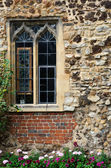 Norman Window in Brick Wall — Stock Photo