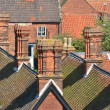 Roof tops and chimneys — Stock Photo