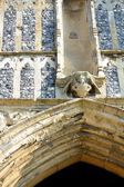 Detail of Priory arch — Stock Photo