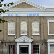 Baptist Church Colchester Essex — Stock Photo
