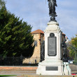 Colchester War Memorial on portrait aspect — Stock Photo