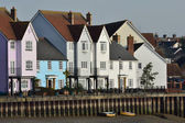 Group of Riverside Houses — Stockfoto