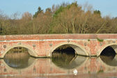 Red brick bridge — Photo