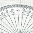 Detail of protractor — Stock Photo #39394181