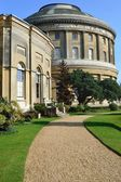 Ickworth Hall and curved path — Stock Photo