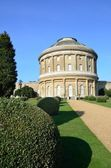 Ickworth Hall and garden — Stock Photo