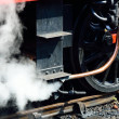 Steam from train pipe — Stock Photo #44929173