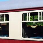 Passenger carriage window — Stock Photo #44929343
