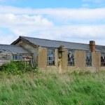 Derelict brick air field building — Stock Photo #46464931
