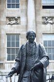 Statue de guy thomas de l'hôpital de gars — Photo