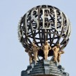 Close up of Colesium Globe London — Foto de Stock