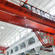 The factory crane - Stock Photo