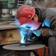 Welding polished — Foto Stock