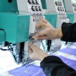 Embroidery equipment — Stockfoto