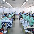 Stock Photo: Textile factory