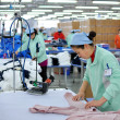 Textile factory — Stock Photo