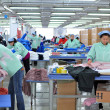 Textile factory - Stock Photo