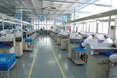 Operai di linea di produzione — Foto Stock